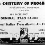 Italo Balbo at the Century of Progress